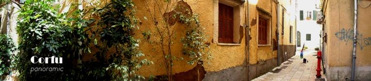 Corfu panoramic